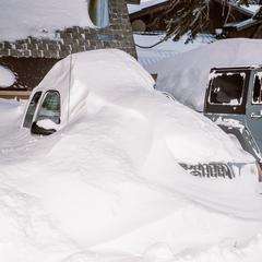 California, Utah Storm Totals Near 100 Inches - ©Peter Morning/ MMSA