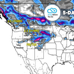 Final Forecast of the 18/19 Ski Season: 4.25 Snow B4U Go - ©Meteorologist Chris Tomer