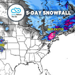 Nor'easter & Double Dose Snowstorms to Ring in Spring: 3.21 Snow B4U Go - ©Meteorologist Chris Tomer
