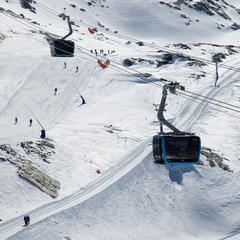3S Gondelbahn Matterhorn Glacier Ride - © Skiinfo | Sebastian Lindemeyer