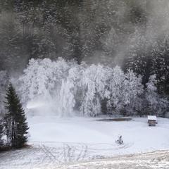 In der Wintersport-Arena Sauerland konnte in den letzten Tagen kräftig beschneit werden - © Wintersport-Arena Sauerland