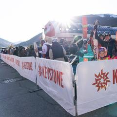 First skiers at Keystone Resort (10.12.19) - © Keystone/Facebook