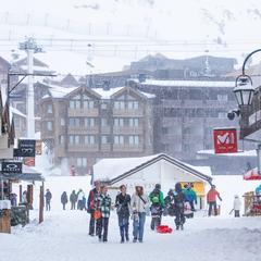 Čerstvý sníh ve Val Thorens 11.2.2020 - © facebook | Val Thorens