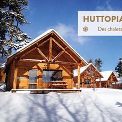 sejour en chalet stations de ski - © Huttopia