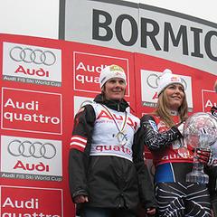 Nicole Hosp, Lindsey Vonn, Maria Riesch - © US-Skiteam