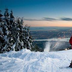Sciare vista mare nel resto del Mondo