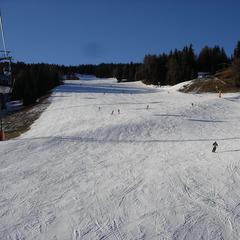 Il punto di vista dello sciatore su: Plan de Corones - ©A. Corbo
