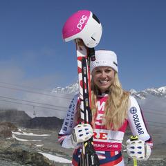 GB Olympic skier, Chemmy Alcott - © Colmar