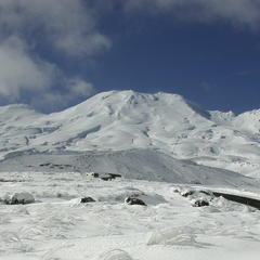 Mt. Ruapehu, Nový Zéland