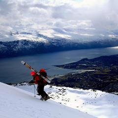Escapade ski dans les Alpes de Lyngen (Norvège) - ©Eric Beallet