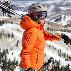 Park City local and retired pro skier Meghan Brown