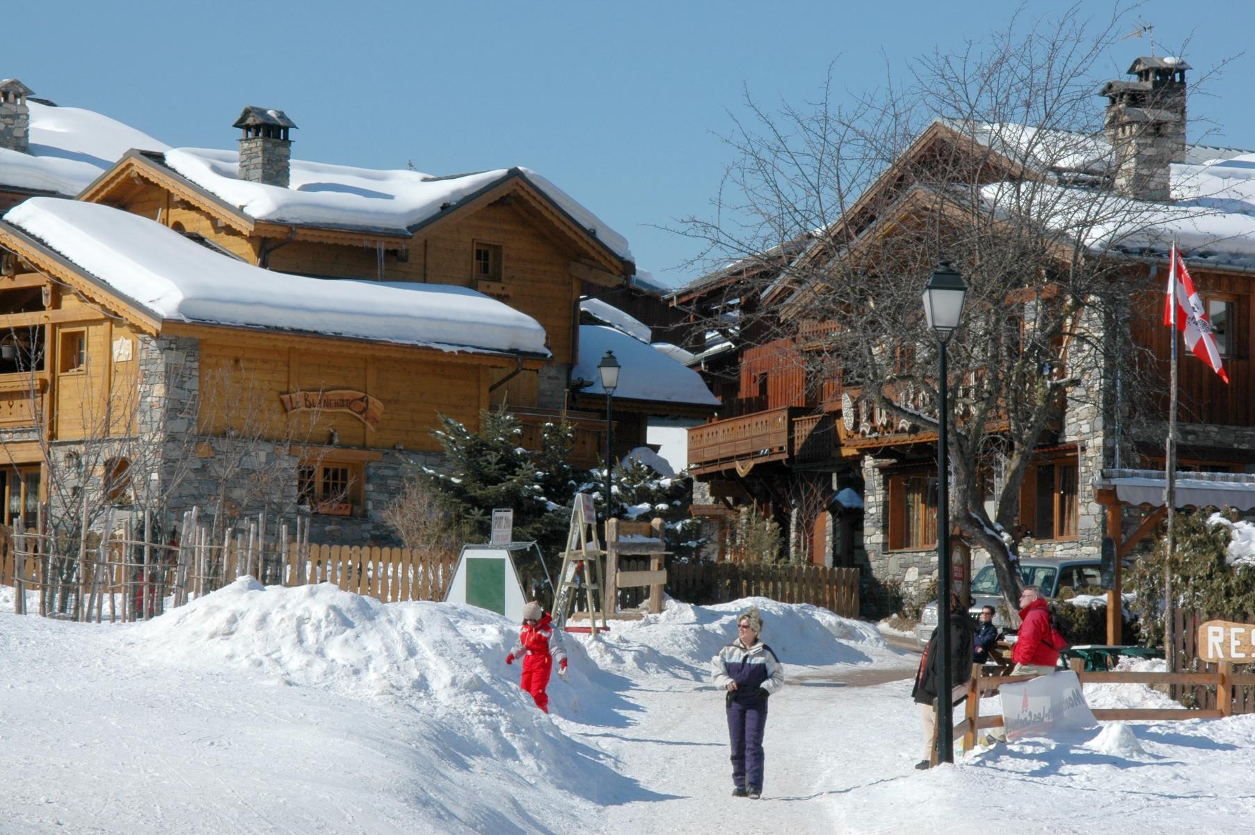 Montchavin La Plagne Ski Resort Montchavin La Plagne Snow