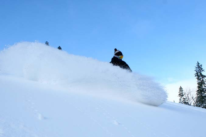 Grong - powder skiing Photo: Kurt Are Lona - 677pxundefined