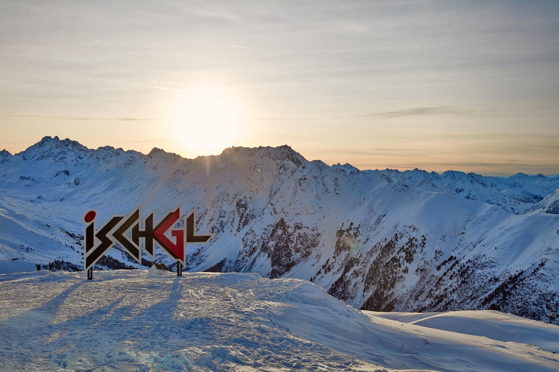 Skigebiet Ischgl im Winter 2018/2019undefined