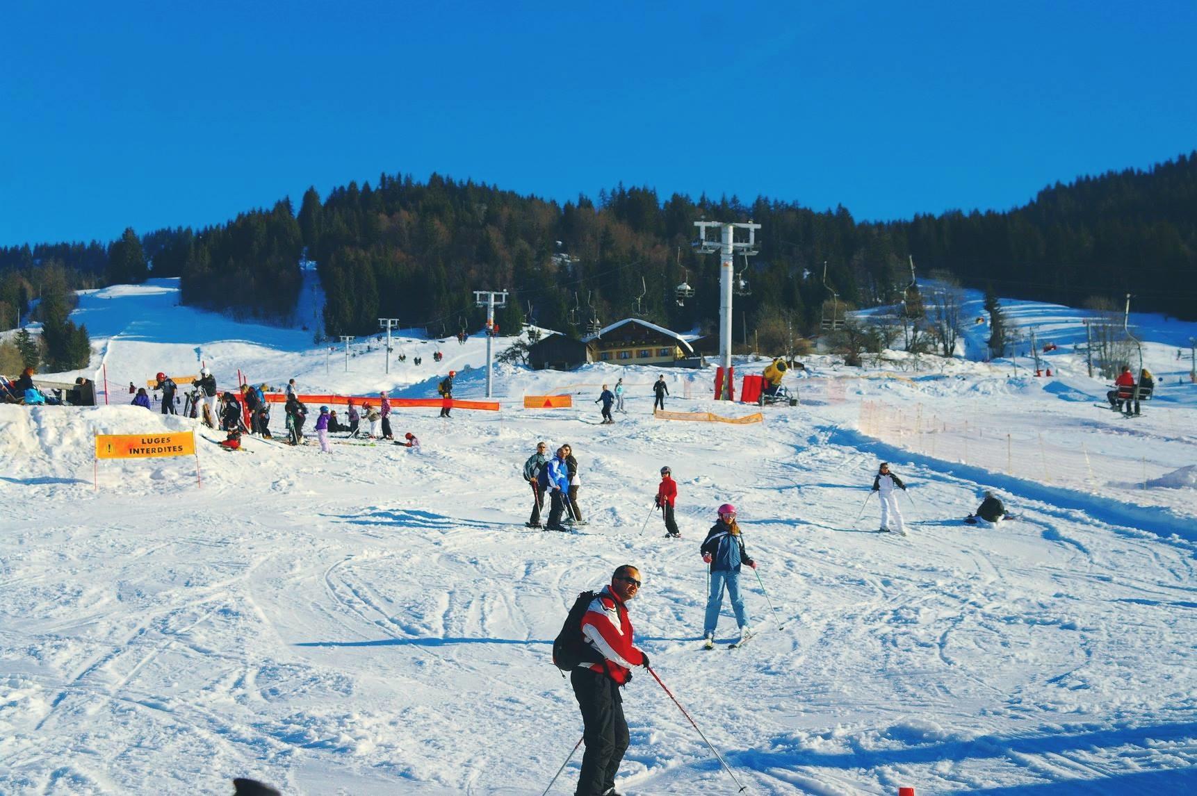 Ski dans le Val d'Arly sur le domaine de Flumetundefined