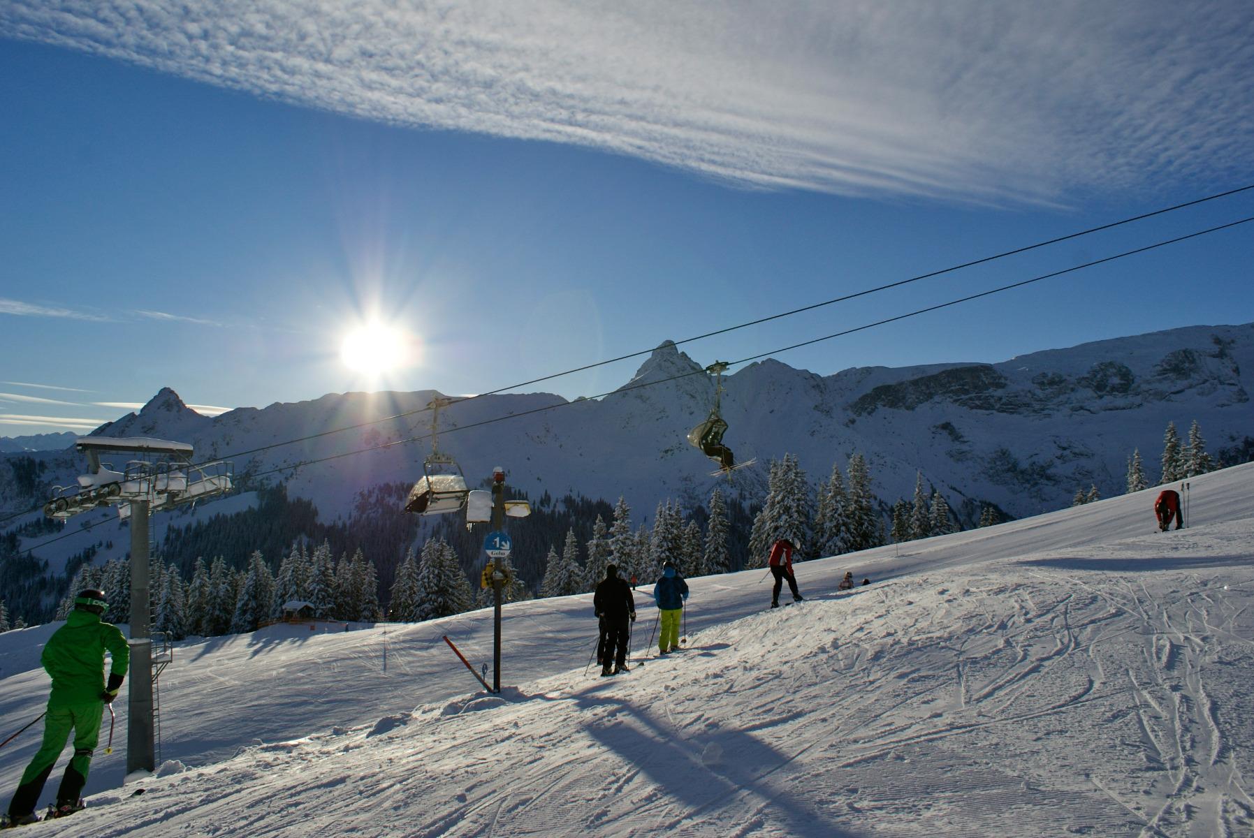 Skigebiet Golm / Vorarlbergundefined