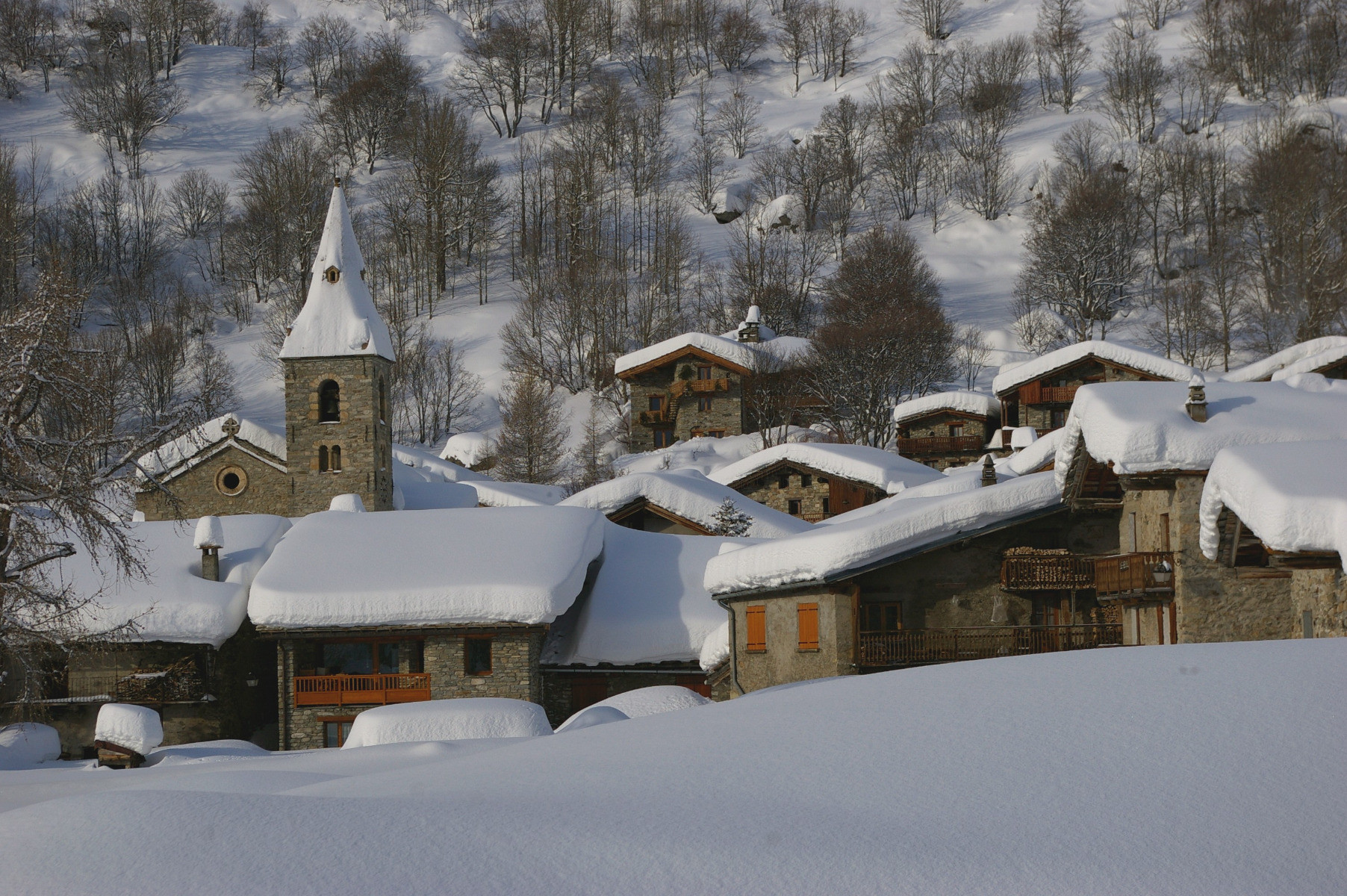 La station village de Bonneval sur Arc