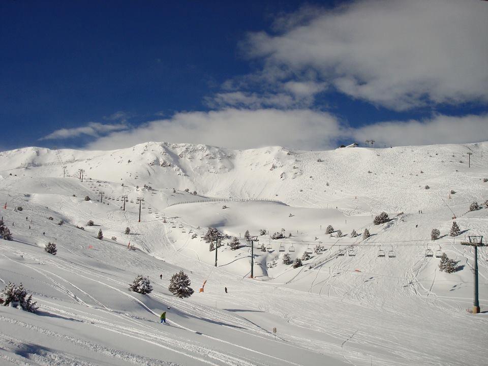 Vue sur le domaine skiable de Grandvalira